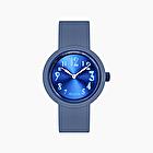O clock capri blue faded numbers