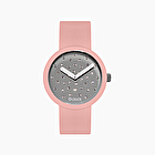 O clock crystal grigio e cipria