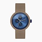 O clock great date tone on tone blu e roccia