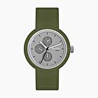O clock great date tone on tone grigio e oliva