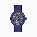 O clock iris blue silver leaf wk 21