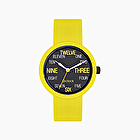 O clock lime with words numbers dial