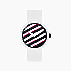 O clock nyc lines bianco e nero