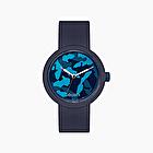 O clock ocean camouflage navy blue