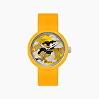 O clock yellow camouflage silver