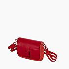 O pocket red with shoulder strap